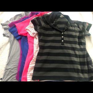 Various Ladies Puma and Nike Golf Shirts